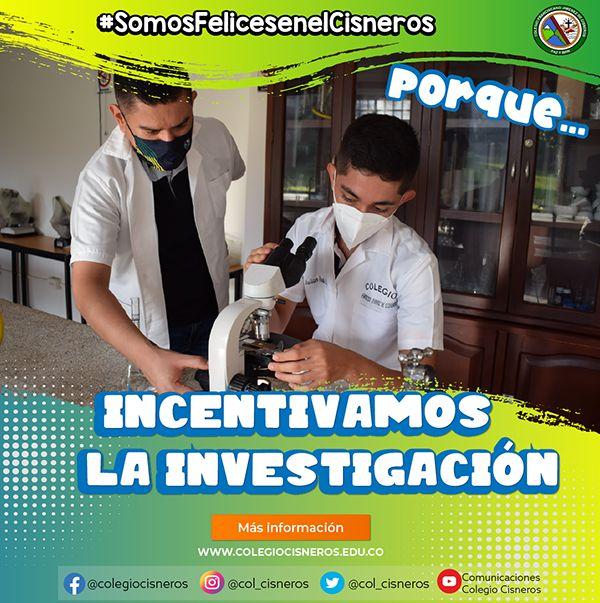 SOMOS FELICES EN EL CISNEROS PORQUE....